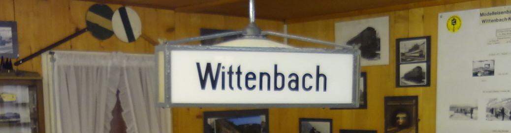 Bahnhoflampe Wittenbach